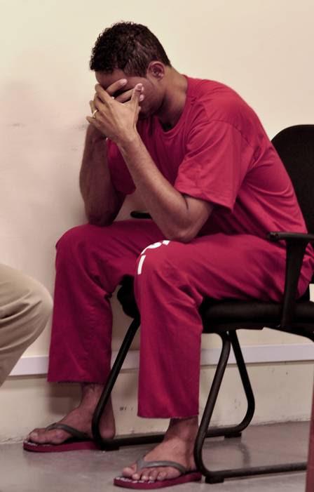 Bruno no tribunal em Minas