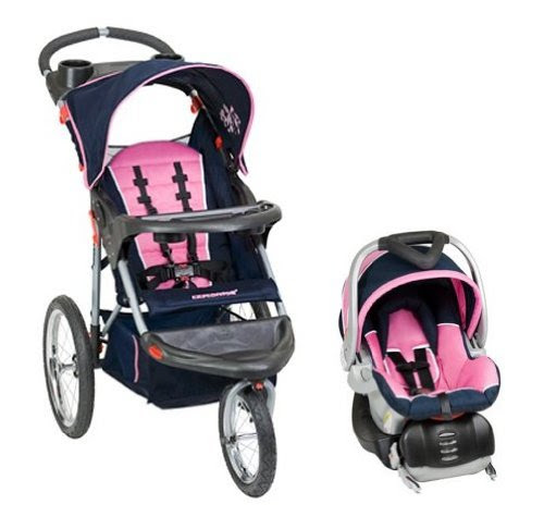 Baby Trend Expedition Swivel Jogging Stroller Travel ...