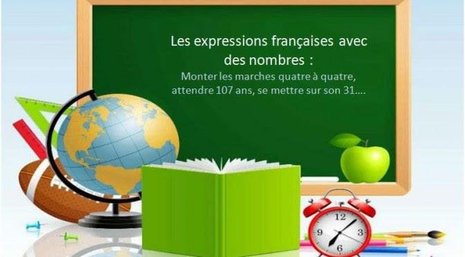 Wyrażenia związane z liczbami - nagłówek - Francuski przy kawie