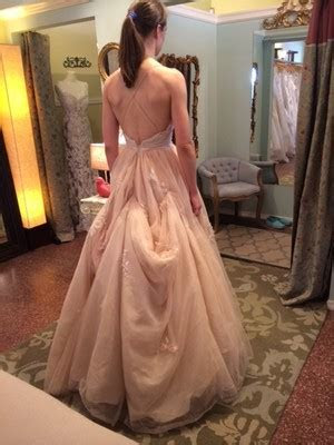 Bustle on a Tulle Ballgown?   Weddings, Beauty and Attire