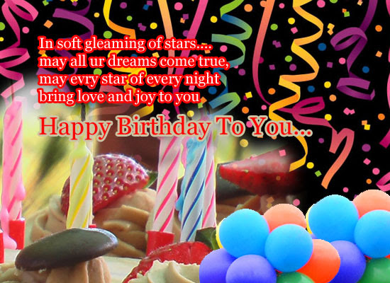 Wish All Your Dreams Come True Free Birthday Wishes Ecards 123