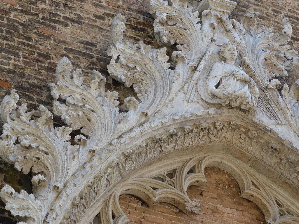Detail of Chiesa di Santo Stefano, Venezia