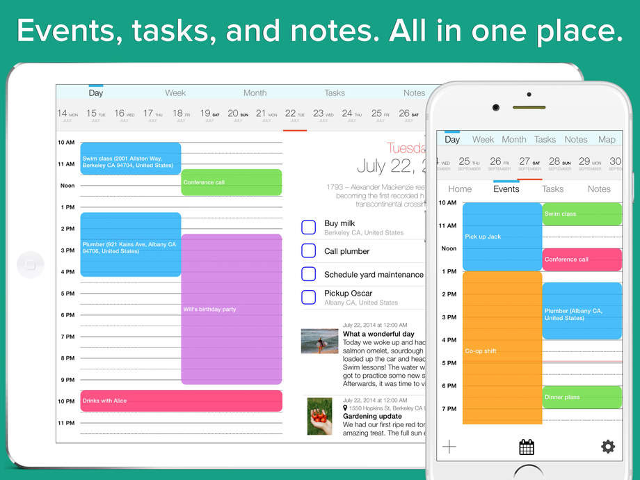 Daily Schedule App | Daily Agenda Calendar