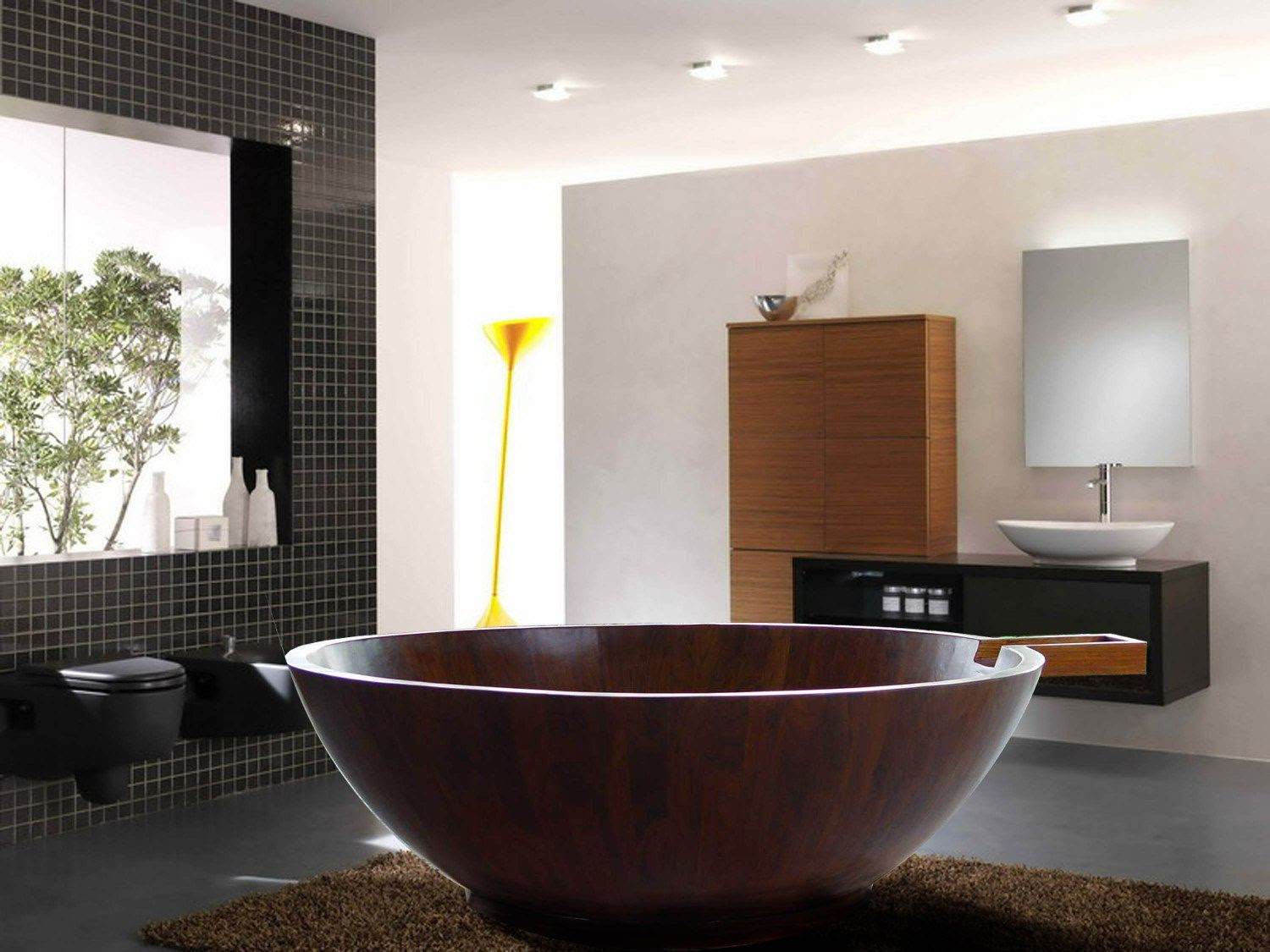 20 Bathrooms With Beautiful Round Tubs