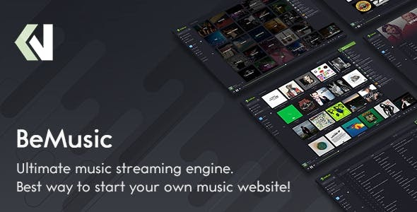 BeMusic v2.3.6 - Music Streaming Engine