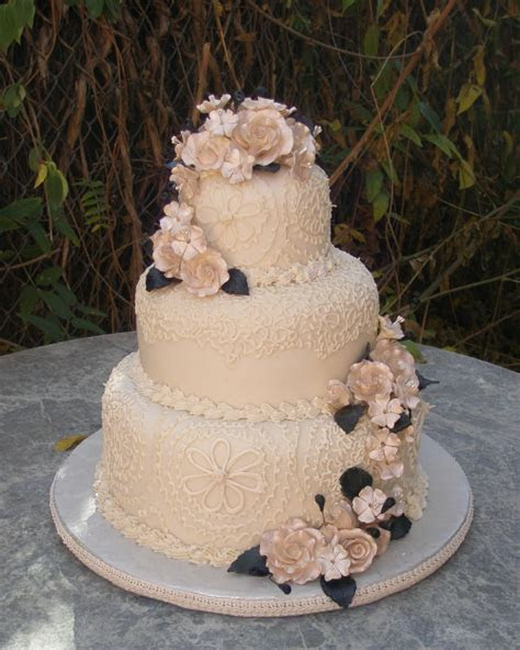 Stacked Wedding cakes #2