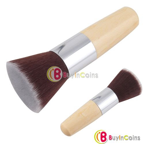 Flat Top Buffer Foundation Powder Cosmetic Salon Makeup Brush Basic Brush