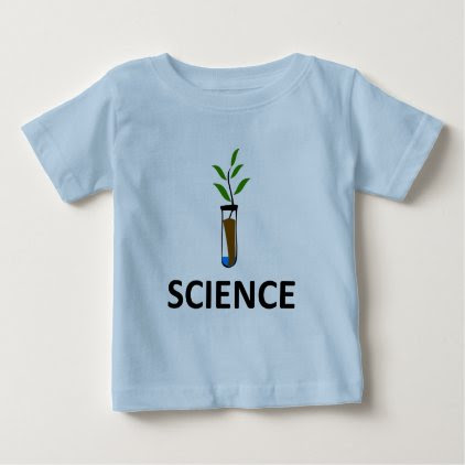 Science – Test Tube Plant Baby T-Shirt