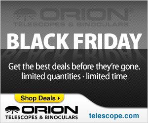 Black Friday Deals - Orion Telescopes