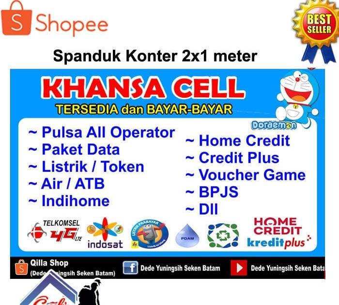 Contoh Banner Jual Pulsa All Operator Banner Aja