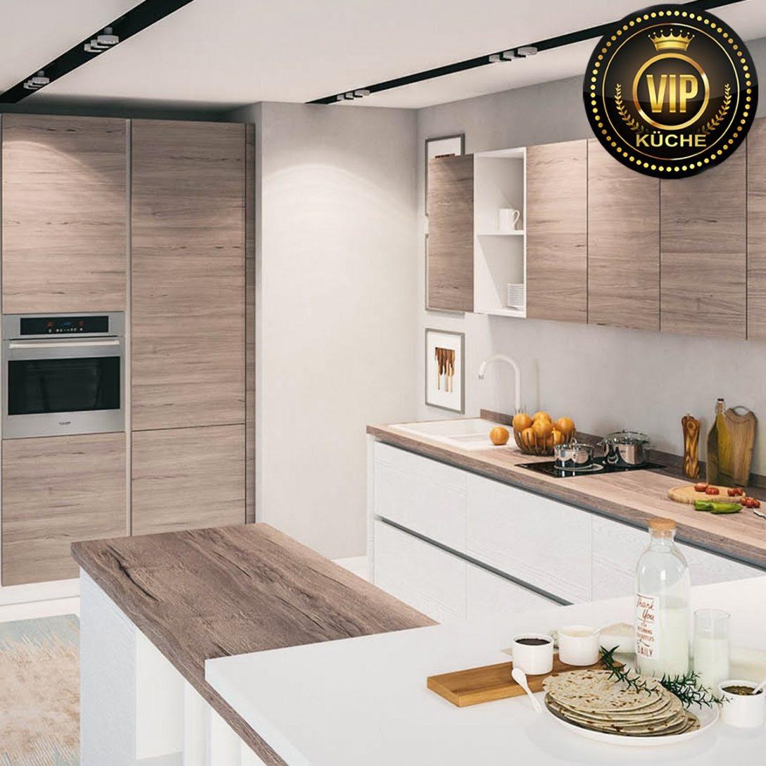 Küche Mit Insel Online Kaufen Günstig Kleine Moderne U ...