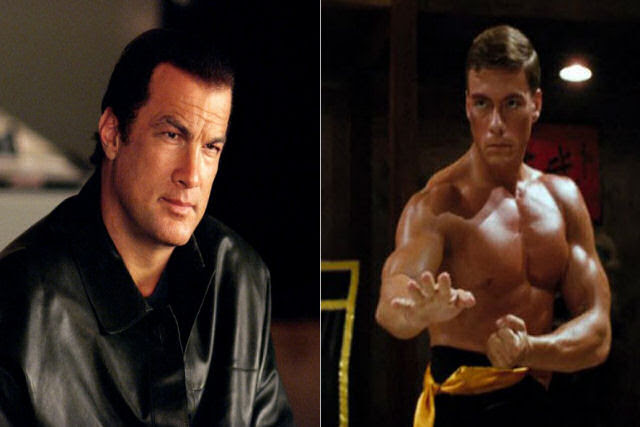 Jean Claude van Damme e Steven Seagal: porrada no jardim de Stallone