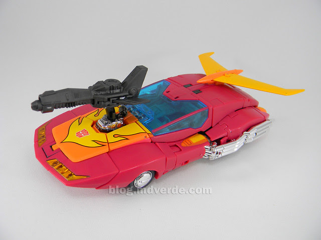 Transformers Hot Rod Masterpiece - modo alterno
