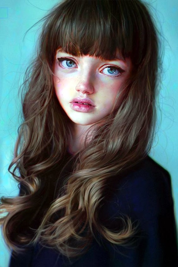 Spectacular Digital Painting Portraits (8)