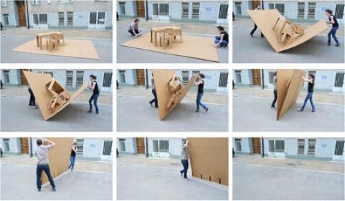 20 inspirational designs made from cardboard « Ponoko – Blog