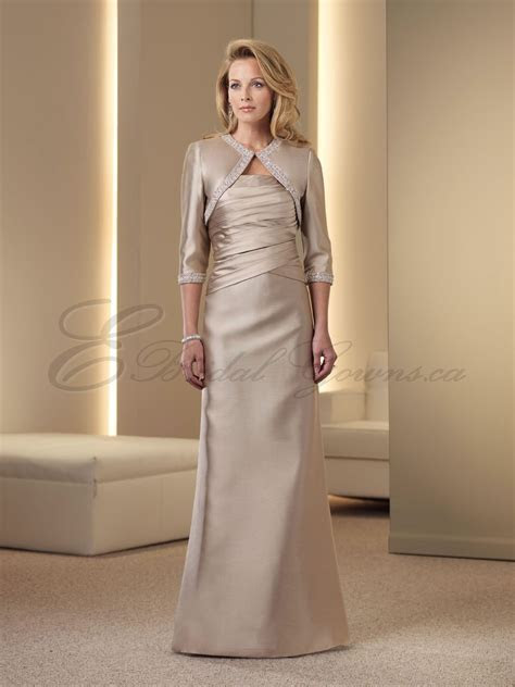 silver wedding dresses for older brides     Mother of