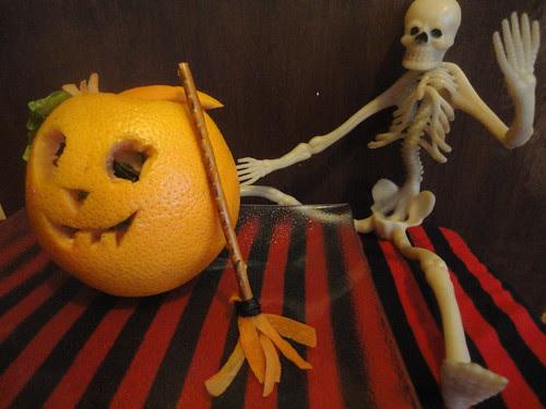 Ensalada de Halloween