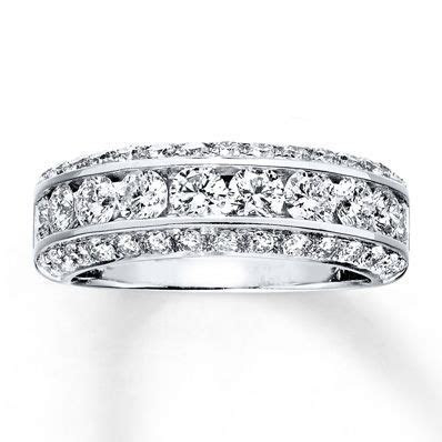 Jared   Diamond Anniversary Band 1 7/8 Carats tw 14K White