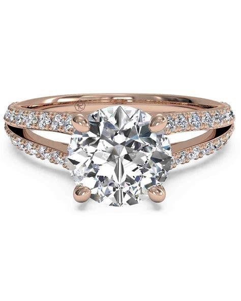 41 Rose Gold Engagement Rings We Love   Martha Stewart