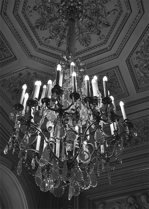 Luminaire THE CRYSTAL CHANDELIER HANGS OVER THE DARK ROOM. A ROOM THAT WAS ONCE ALIVE WITH MUSIC AND DANCING. NOW IT'S A DARK ROOM FULL OF OLD SHADOWS AND SOME NEW, UNUSUAL SHADOWS. COME VISIT END HOUSE AT OASIS, A HOUSE FULL OF MEMORIES OF ITS VIBRANT PAST. THE DEAD GAME HAS BEGUN.