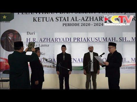 KABARCIANJUR.TV   Serah Terima Jabatan Ketua STAI AL Azhary