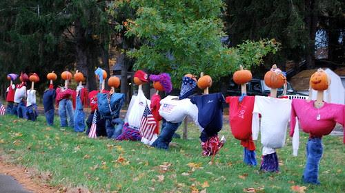 Pumpkin heads unite!