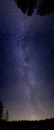 star sky panorama