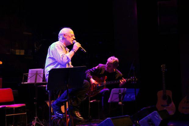 Joan Isaac con Josep Traver. © José Luis Martínez