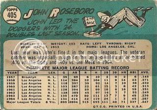 #405 John Roseboro (back)