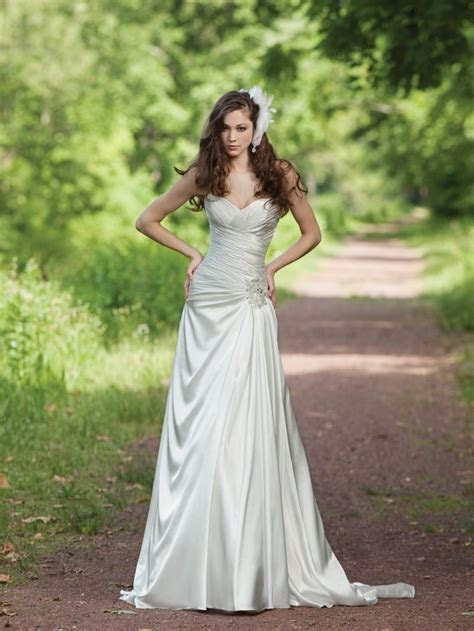 377 best images about A line Wedding Dresses on Pinterest