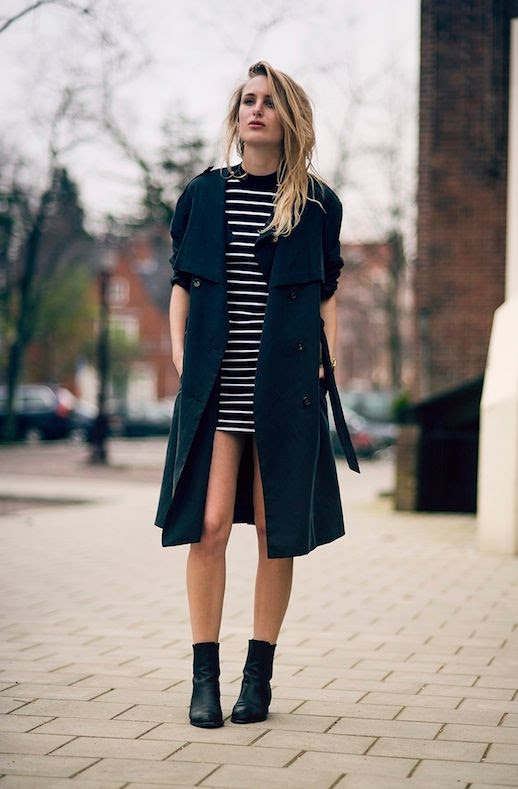 Le Fashion Blog Rainy Day Style Inspiration Black Trench Coat Striped Mini Dress Alexander Wang Anouck Chelsea Boots Cut Out Heels Via Raspberry Rouge Blogger What To Wear For Rain photo Le-Fashion-Blog-Rainy-Day-Style-Inspiration-Trench-Coat-Striped-Dress-Boots-Via-Raspberry-Rouge-Blogger.jpeg