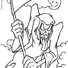 Dibujos Para Colorear La Muerte Eshellokidscom