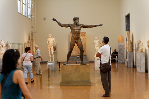 Athens National Archeological Museum - Zeus or Poseidon of  Artemision