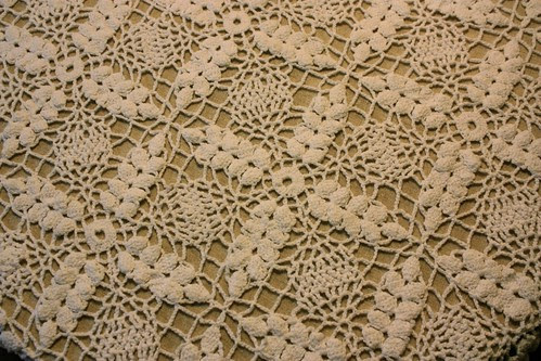 Wheat Pattern Crocheted Cloth