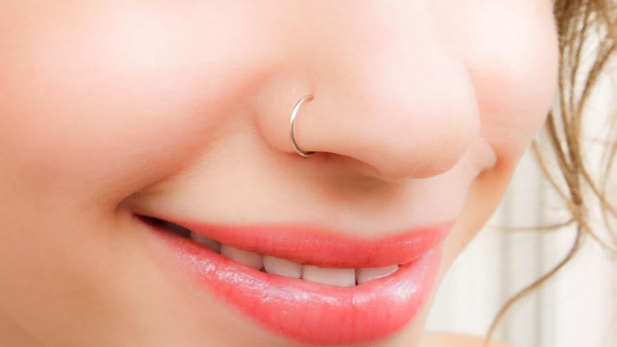Fake Nose Ring Sterling Silver Moonli Designs