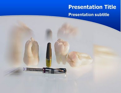 Powerpoint Templates Download Implant Teeth Powerpoint