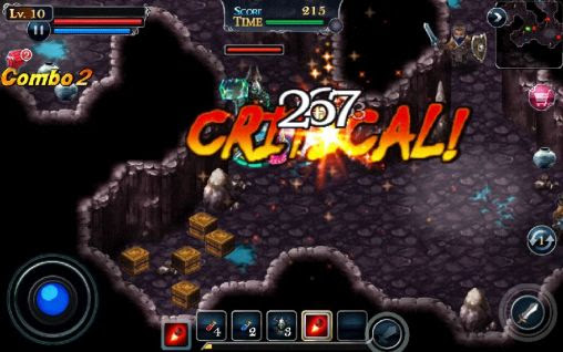 Screenshots of the SOL: Stone of life EX for Android tablet, phone.