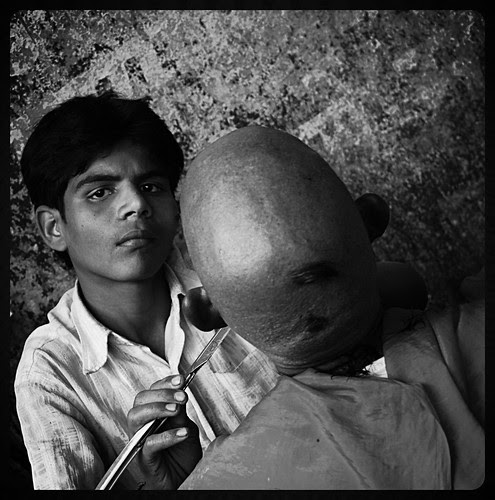 I Document The Humility Of Street Barbers Of India by firoze shakir photographerno1