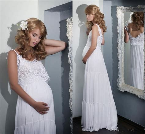 boho lace maternity wedding dresses lace pregnant