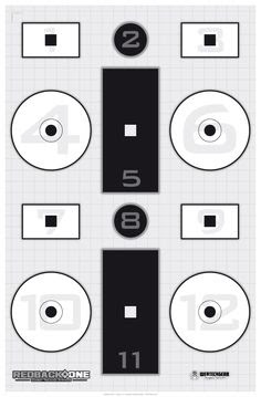 Downloadable targets for shooting practice. | Gear | Pinterest ...