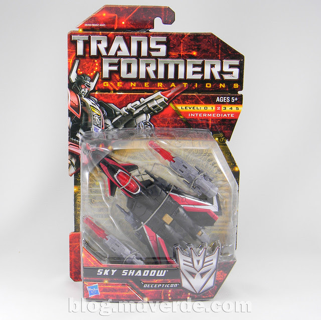 Transformers Sky Shadow Deluxe - Generations - caja