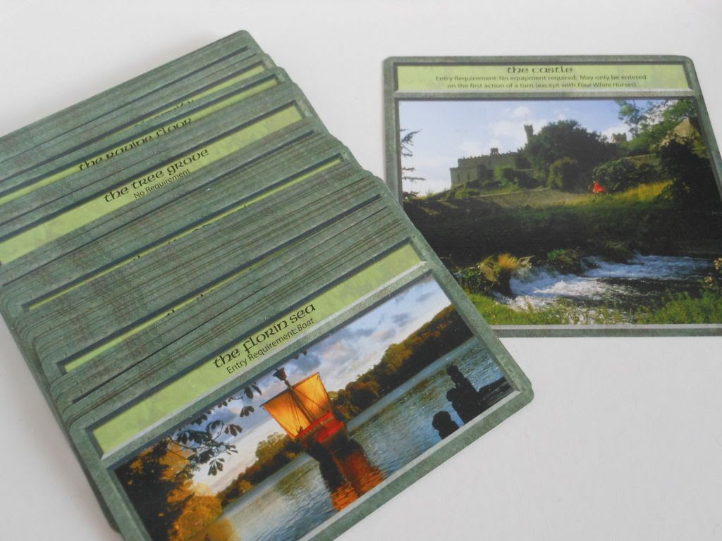 The Princess Bride: Storming the Castle location cards