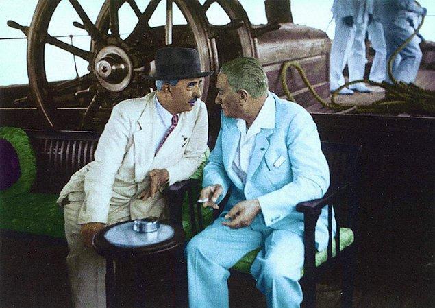 """3 Eylül 1938 / """"Eski dost'a sıcak bir jest"""""""