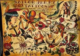 Sailor Jerry Padre De Los Tatuajes Old School Hamahiru Ink