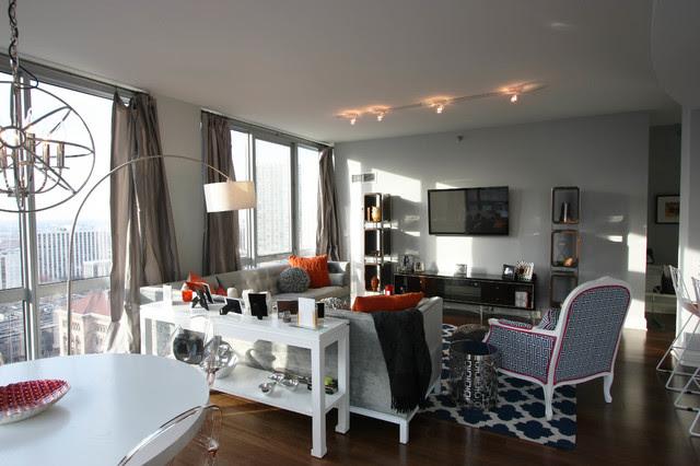 Walton on the Park - Gold Coast Apartment - contemporary - living