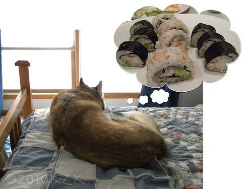 Zim's sushi dream