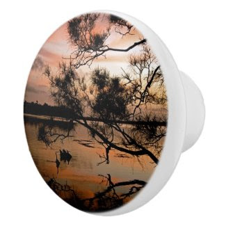 Shadow Sunset 1 Ceramic Knob