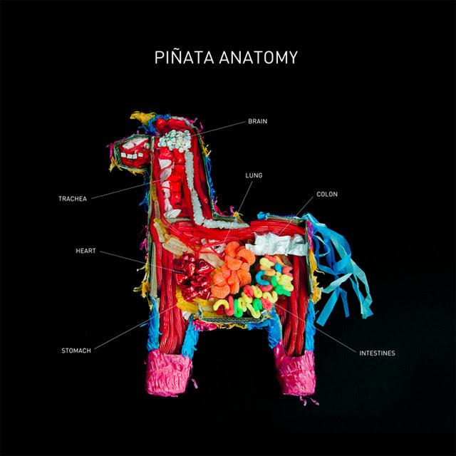 piñata, anatomia de una piñata, piñata anatomy