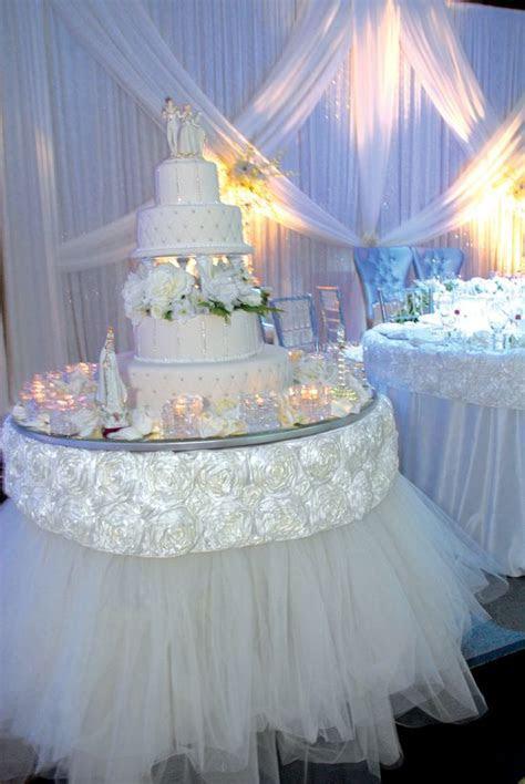 Wedding Cake Table Décor Ideas