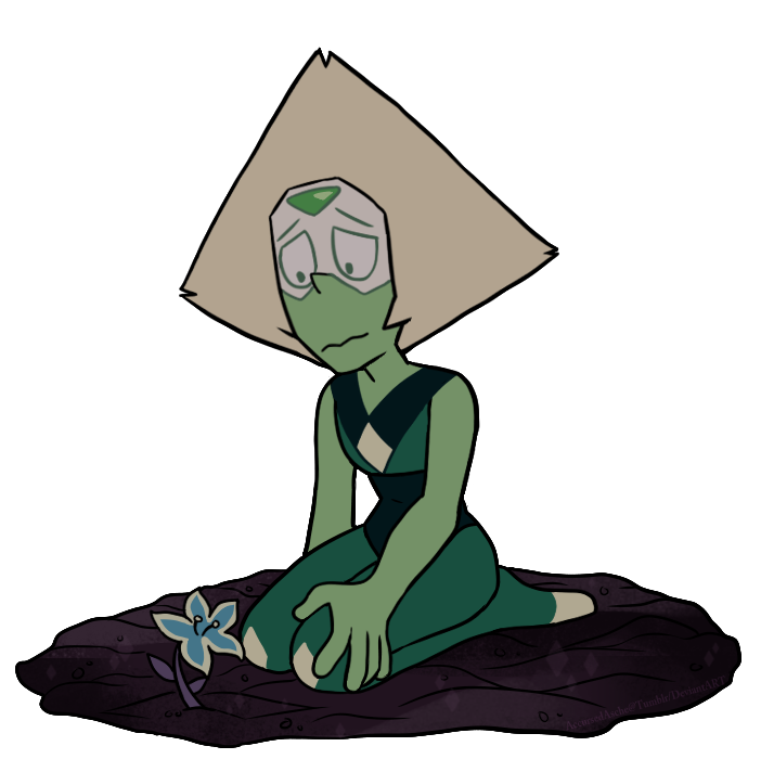 Oh look SU art! I already saw all the new eps. XD So have some Peridot (based on one of the new eps!)